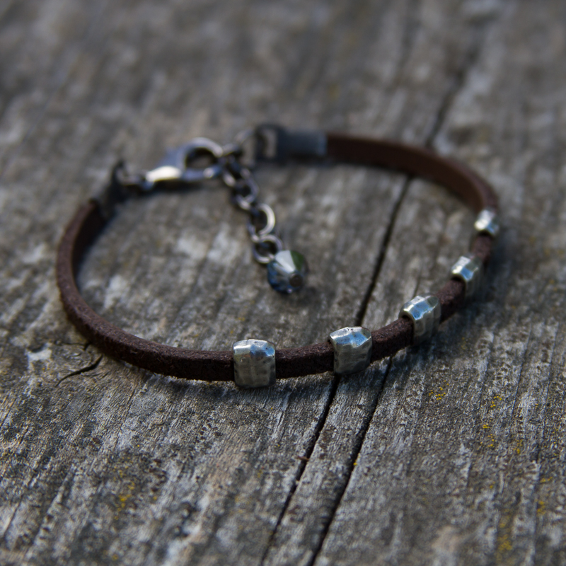 Sanctuary Leather Bracelet #BC49