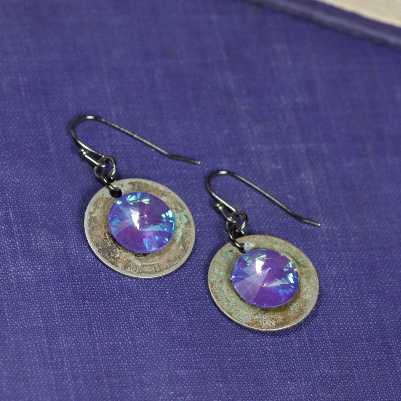 Twilight Coin Earrings #EW492-172