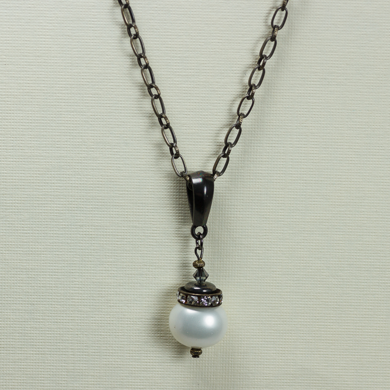 Vintage pearl large pearl pendant nc348 8 cool water jewelry vintage pearl large pearl pendant aloadofball Image collections