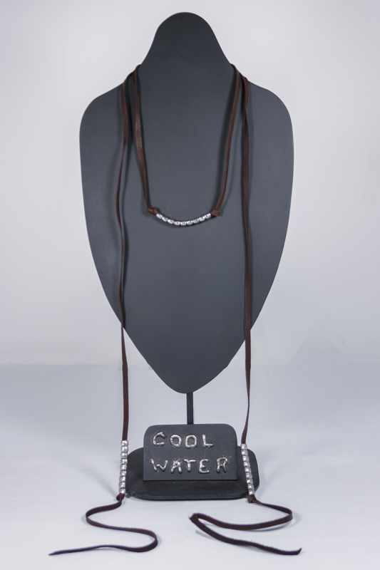 Sanctuary Leather Lariat Necklace #NC380